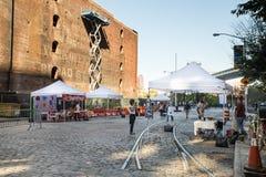 Dumbo sztuk festiwal Brooklyn Fotografia Stock