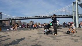 Dumbo w Brooklyn zbiory wideo