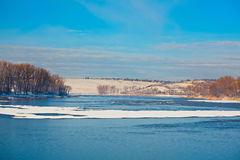 Dumbrava lake Royalty Free Stock Photography