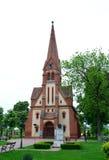 Dumbravita Reformed Church Royalty Free Stock Photo
