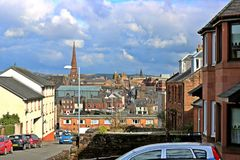 Dumfries miasteczko obrazy royalty free