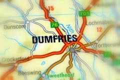 Dumfries Skottland, Förenade kungariket Royaltyfri Foto