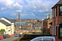 Dumfries stad Royaltyfria Bilder