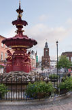 Dumfries town fountain Royalty Free Stock Image