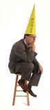 dumhuvud Royaltyfri Fotografi