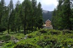 Dumlerhutte, Totes Gebirge, Oberosterreich, Austria stock image