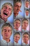 Dumme Gesichtsausdrücke Stockbilder