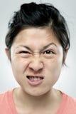 Dummes lustiges Gesicht Lizenzfreies Stockfoto