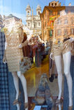Dummies In A Fashionable Shop Window Stock Photography