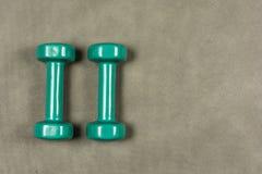 Dummköpfe für die Eignung oder Rehabilitation, die zwei Kilogramm wiegen Stockfotos