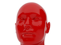 Dummy. 3d illustration over white backgrounds. High resolution image. Robot dummy Stock Photo