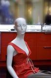 Dummy. Fashionable female dress on a dummy Royalty Free Stock Photography