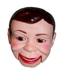 Dummy. A close up of a ventriloquist dummy with a smile on his face Stock Image