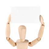 Dummy and blank card Royalty Free Stock Photo