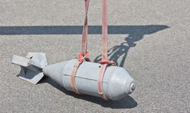 Dummy bomb lifting Royalty Free Stock Photography