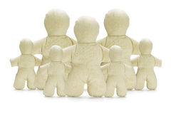 Dummy Figurines Family Concept Royalty Free Stock Image