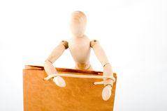 Dummy Go shopping Royalty Free Stock Photo