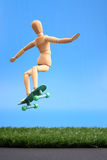Dummy jump Royalty Free Stock Image