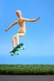 Dummy jump Royalty Free Stock Image