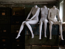The dummy of mannequin Stock Photo