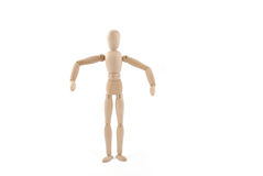 Dummy Pose Royalty Free Stock Images