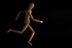 The dummy runner Stock Images