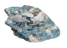 Dumortierite bleu lumineux Image libre de droits