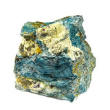 Dumortierite crystal Royalty Free Stock Images