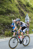 骑自行车者汤姆Dumoulin 免版税库存照片