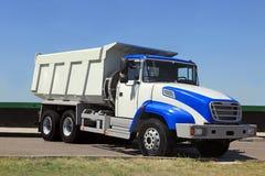 Dump-body truck Stock Photos