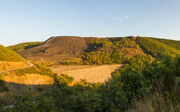 Dump Coal Mine Open Pit Royalty Free Stock Images
