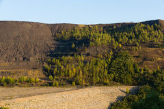 Dump Coal Mine Open Pit Stock Photo