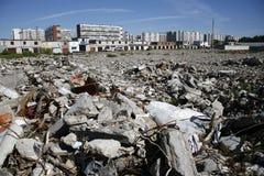 Dump of dust Stock Image