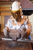 Dump gold bullion Royalty Free Stock Image