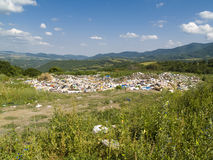 Dump on the nature Stock Image