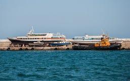 Dump ships Stock Image
