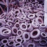 Dump tires. royalty free stock photography