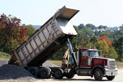 Dump Truck 1 royalty free stock photography