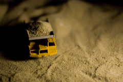 Dump Truck. Close photo of a toy dump truck Stock Image