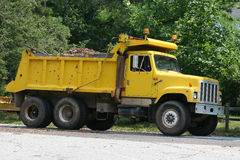 Dump Truck 2 Royalty Free Stock Photos