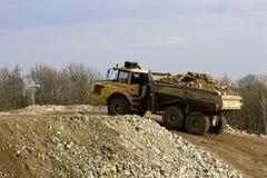 dump truck Lizenzfreie Stockbilder
