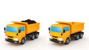 dump truck Imagens de Stock Royalty Free