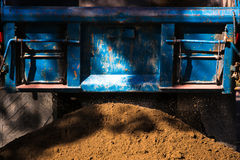 dump truck Stockfoto