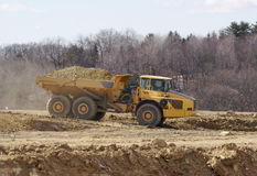 Dump Truck. Industrial Dump Truck Royalty Free Stock Photography