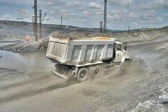 dump truck Fotografía de archivo libre de regalías
