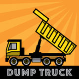 dump truck Images libres de droits