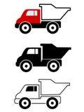 dump truck illustrazione vettoriale