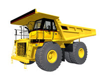 Dump Truck. Computer generated 3D illustration with a Dump Truck isolated on white background Stock Image
