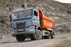 Dump truck KrAZ Stock Photo