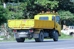 Dump truck of Maejo Subdistrict Administrative Organization Royalty Free Stock Photography